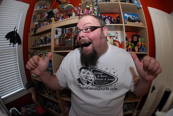ME IN A CHUCKLENUT SHIRT!